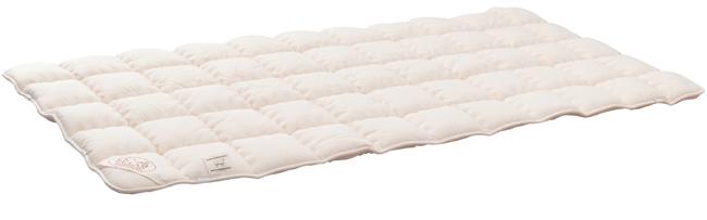 Mond-Art Comfortauflage Schafwolle Baumwolle Natuerlich Gesund Schlafen